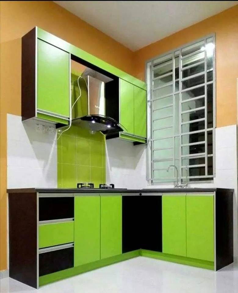 Perabot Dapur Pasang Siap